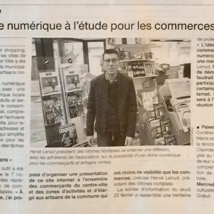 Article Ouest France mars
