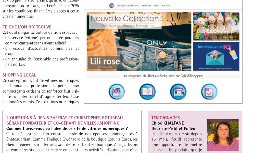 article villes&shopping nort sur erdre