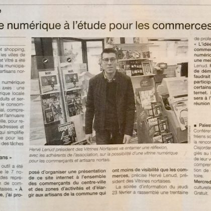 Article Ouest France mars 2017